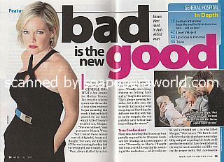 Interview with Maura West (the conniving Ava Jerome on General Hospital)