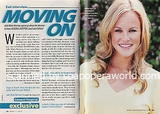 Exit Interview with Julie Marie Berman of General Hospital