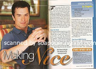 Interview with Rick Hearst (Ric Lansing on the soap opera, General Hospital)