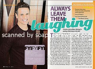 Interview with Christian LeBlanc (Michael on The Young & The Restless)