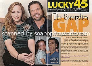 Interview with Camryn Grimes and Joshua Morrow of The Young and The Restless