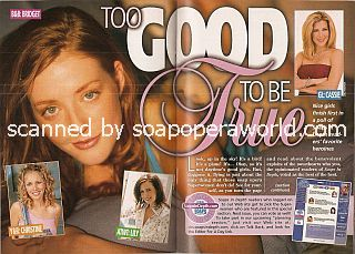 Too Good To Be True featuring Jennifer Finnigan (Bridget on The Bold & The Beautiful)