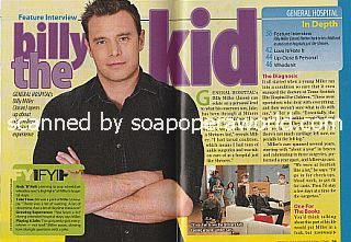 Interview with Billy Miller (Jason on General Hospital)