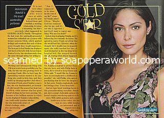 Gold Star Performer Jessica Leccia (Natalia on Guiding Light)