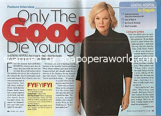 Interview with Maura West (Maura plays the role of Ava on General Hospital)