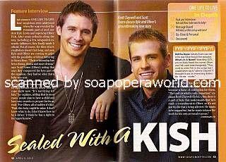 Brett Claywell & Scott Evans (Kyle & Oliver, OLTL)