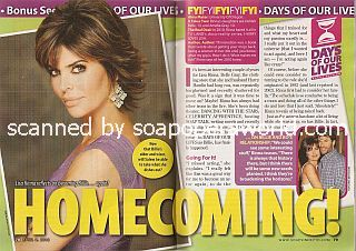 Interview with Lisa Rinna (Billie on Days Of Our Lives)