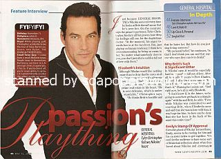 Interview with Tyler Christopher (Nikolas on the soap opera, General Hospital)