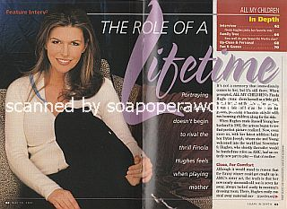 Interview with Finola Hughes (Anna Devane on General Hospital)