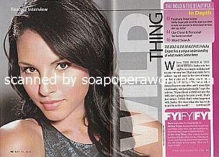 Interview with Felisha Cooper (Sasha on The Bold and The Beautiful)