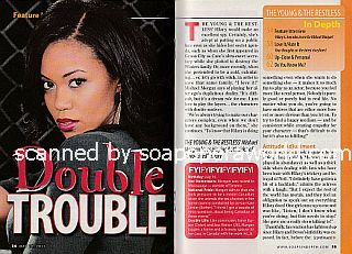 Interview with Mishael Morgan (Hilary on The Young and The Restless)