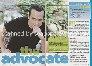 Interview with Maurice Benard (Sonny Corinthos on General Hospital)