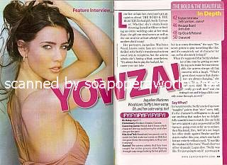 Jacqueline MacInnes Wood (Steffy, B&B)