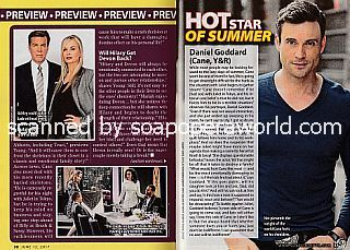 Hot Star Of Summer featuring Daniel Goddard (Cane on The Young and The Restless)