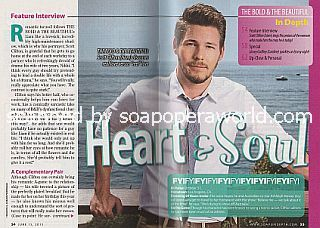 Interview with Scott Clifton (The Bold and The Beautiful's 