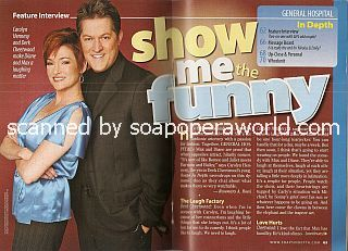 Interview with Carolyn Hennesy & Derk Cheetwood (Diane & Max on General Hospital)