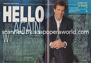 Interview with Bradley Cole (Jeffrey O'Neill on the CBS soap opera, Guiding Light)