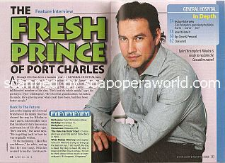 Interview with Tyler Christopher (Nikolas on General Hospital)