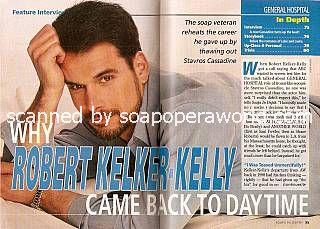 Robert Kelker-Kelly played the role of villain Stavros Cassadine on GH
