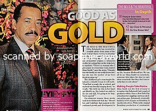 Interview with Obba Babatunde (Julius on The Bold and The Beautiful)