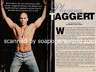 Interview with Real Andrews (Taggert on General Hospital)