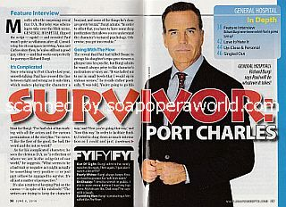 Interview with Richard Burgi (Paul on ABC soap opera, General Hospital)