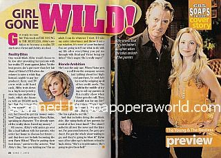 Cover Story featuring Eric Braeden & Marcy Rylan of Y&R