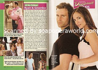 Soaps' Most Dynamic Duos featuring Cameron Mathison & Rebecca Budig (Ryan & Greenlee on All My Children)