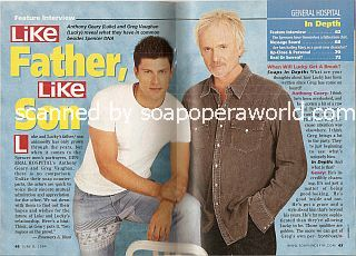Interview with Greg Vaughan & Anthony Geary (Lucky and Luke on General Hospital)