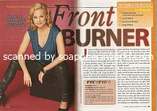 Interview with Jessica Collins (Avery on the soap opera, The Young & The Restless)