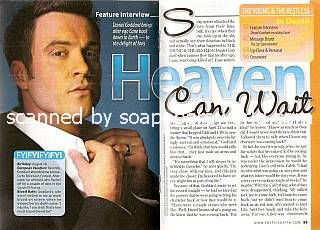 Interview with Daniel Goddard (Cane on The Young & The Restless)