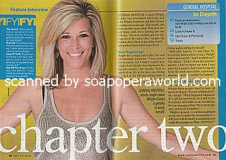 Interview with Laura Wright (Carly on ABC soap opera, General Hospital)