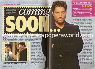Interview with Sean Kanan (Deacon on The Bold & The Beautful)