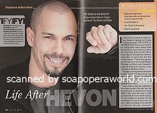 Interview with Bryton James (Devon on The Young and The Restless)