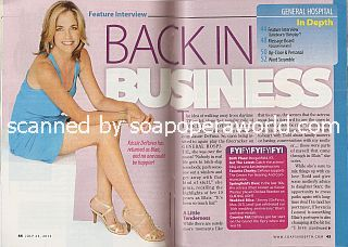 Interview with Kassie DePaiva (Blair on General Hospital)