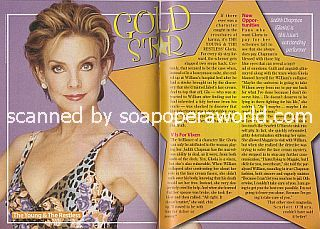 Gold Star Performer Judith Chapman of The Young and The Restless