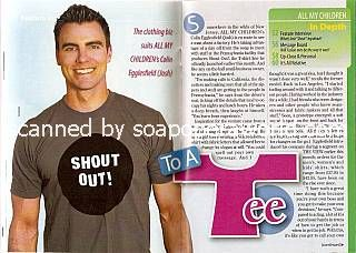 Colin Egglesfield (Josh, AMC)