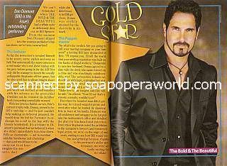Don Diamont plays the role of Bill Spencer on B&B