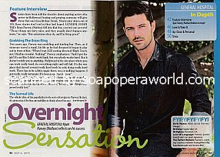 Interview with Ryan Paevey (Nathan on the ABC soap opera, General Hospital)