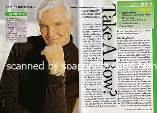Interview with David Canary (Adam Chandler on All My Children)