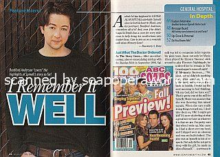 Interview with Bradford Anderson (Spinelli on General Hospital)