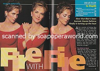 Interview with Kassie DePaiva (Blair Kramer on One Life To Live)
