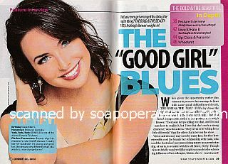 Interview with Ashleigh Brewer (Ivy on The Bold and The Beautiful)