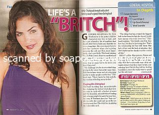 Interview with Kelly Thiebaud (Dr. Britt Westbourne on General Hospital)