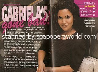 Interview with Ion Overman (Gabriela on the ABC soap opera, Port Charles)