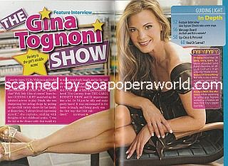 Interview with Gina Tognoni (Dinah on Guiding Light)