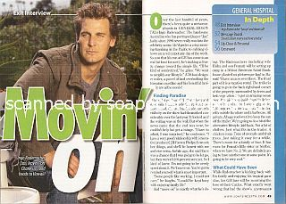 Exit Interview with Ingo Rademacher (Jax on General Hospital)