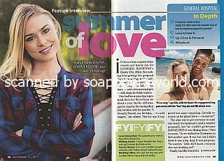 Interview with Hayley Erin (Kiki on General Hospital)