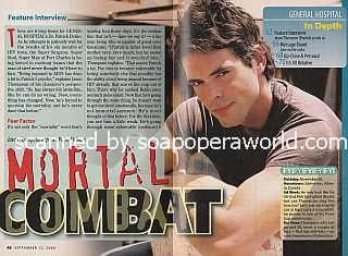 Interview with Jason Thompson (Dr. Patrick Drake on General Hospital)