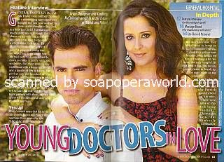 Interview with Jason Thompson & Kimberly McCullough (Patrick and Robin on General Hospital)